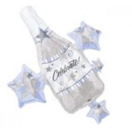 Globo Botella de Champaña XL