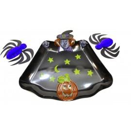 Bandeja Halloween Negra Importada