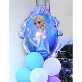 Globo metalizado Frozen Anna Elsa 38pulg