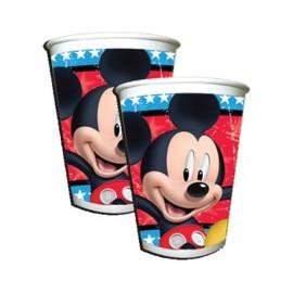 Vasos x8 Mickey