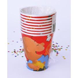 Vasos Snoopy 9oz x8 Importado