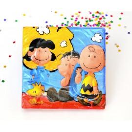 Servilletas Snoopy x16 Importado