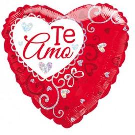 Globo Te amo Corazón 36pulg