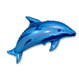 Globo 27pulg Antigravedad Delfin azul