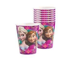 Vasos Frozen 9oz x8 Importado