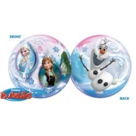 Globo Frozen Burbuja 22pulg
