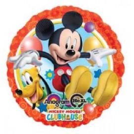 Globo metalizado 18pulg Mickey y Pluto