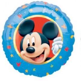 Globo metalizado 18pulg Mickey portaretrato