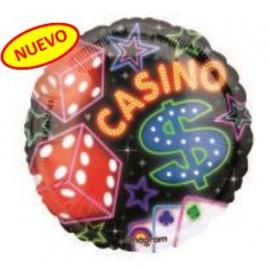Globo 18pulg Casino