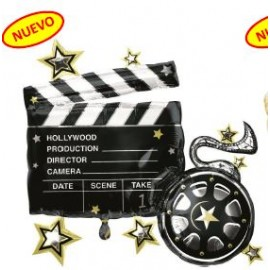 Globo 30pulg XL Tablero Hollywood