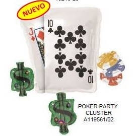Globo 29pulg XL  Poker Party
