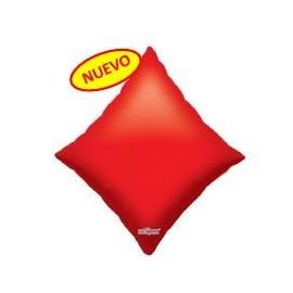 Globo 28pulg XL Poker Diamante Rojo
