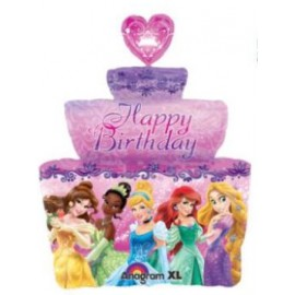 Globo metalizado LRG XL Princess Day Cake