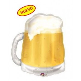 Globo 35pulg XL Mug Cerveza