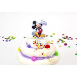 Palillos Mickey Mouse x24 Plásticos Importado