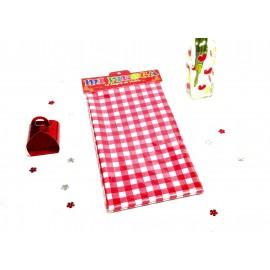 Mantel Picnic plástico rojo