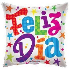 Globo 18pulg Feliz día