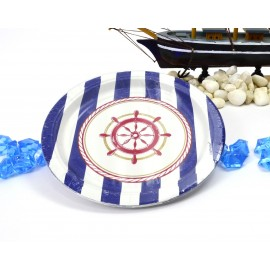 Platos Nautica 7pulg. x8 importados