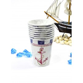 Vasos Nautica 9oz. x8 importado