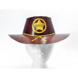 Sombrero Sherif cartón