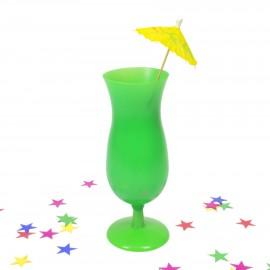 Copa coctel plástica