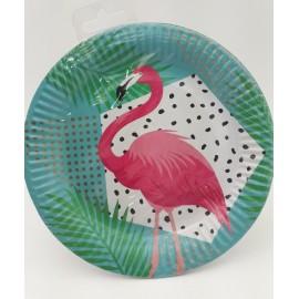 Platos Flamingo x8 Sempertex