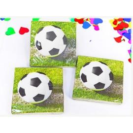 Servilletas Futbol x16 unidades