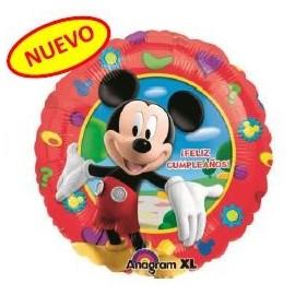 Globo Mickey  Feliz Cumpleaños 18pulg
