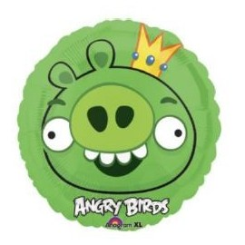 Globo Angry Birds King Pig 18pulg