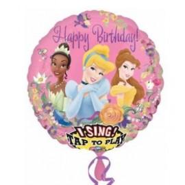 Globo musical 28pulg Princesas