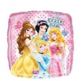 Globo 18pulg XL Princesas Feliz Dia