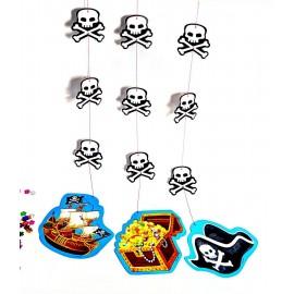 Colgantes Pirata x3 Importado