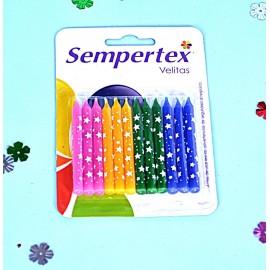 Velas delgada x12 Sempertex