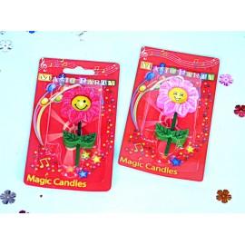 Vela Flores Carita 9 cm x 5 cm