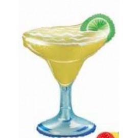 Globo metalizado Copa Margarita XL